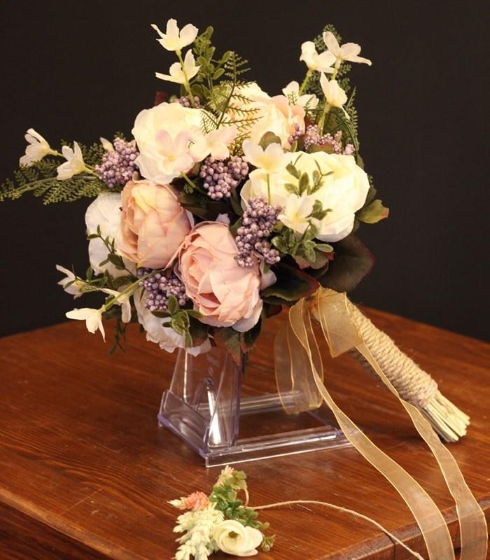 Somon Pembe Beyaz Gelin Çiçeği