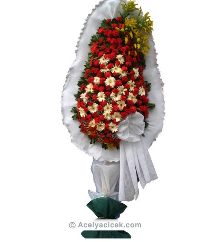Kırmızı Beyaz Düğün Çiçeği