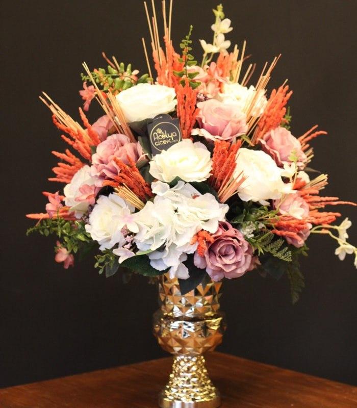 Özel Tasarım Yapay Nişan Çiçekleri
