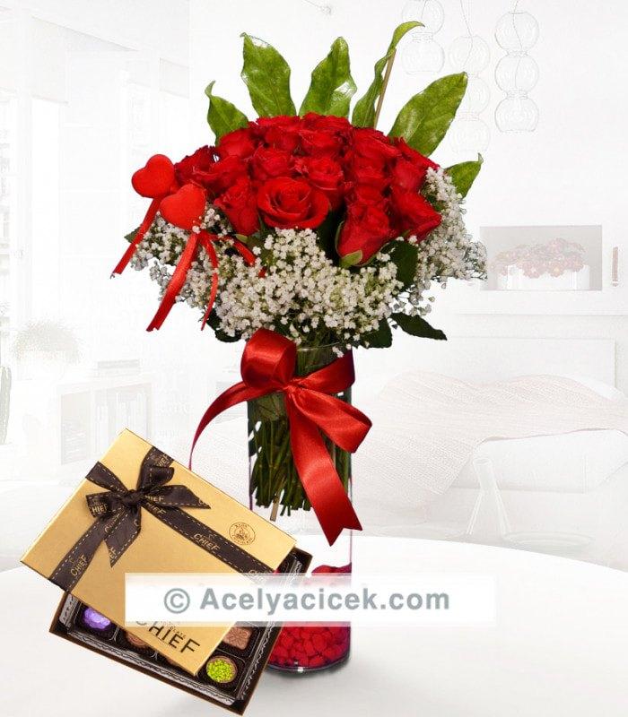 20 Gülün Aşkı & Special Çikolata